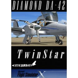 DIAMOND DA42 TWINSTAR for FS X